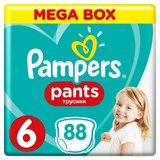 Scutece-chilotel Pampers Pants Mega Box 6